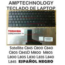 Teclado Toshiba Satellite C845 C800 C840 C805 C845d M800