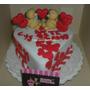 Mini Torta De Regalo Para Mujer,aniversario,cumpleaños,amor