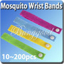 Pulsera Repelente No Picaduras Anti Mosquitos 3 X 10 Soles