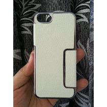 Case Metalizado Y Cuero Iphone 5/5s (+1 Mica) Corpac C.civic