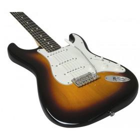 Guitarra Electrica Stratocaster Importada Sunburst Clasico