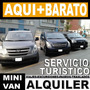 Alquiler De Vans Hyundai H1 Matrimonio Concierto Mini Van