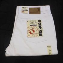 Jeans Blancos Clasicos