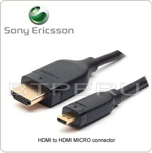 Cable tv sony micro hdmi xperia pro neo s lt26 play - Precio cable tv ...
