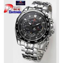 Reloj Casio Edifice Ef-550rbsp Red Bull Edition Limited 2014