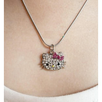 Lindo Collar De Hello Kitty Importado De Asia En Stock