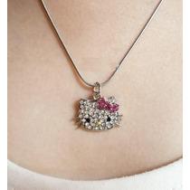 Lindo Collar De Hello Kitty Importado De Asia En Stock