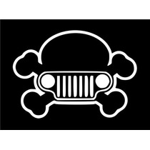Stickers Jeep Skull 4 X4