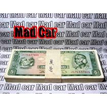 Mc Mad Car Fajo X 100 5 Soles De Oro Peru Billete Moneda