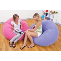 Sillon Puff Inflable Intex+delivery