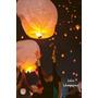 Lámparas Aerostáticas En El Cielo. Mensajes Al Cielo. Globos