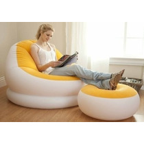 Sofa Puff Inflable Intex Por 2 Piezas +delivery