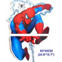 Sticker Pared Spiderman Hombre Araña 63 X 40 Cm. Decoracion