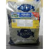 Heno De Alfalfa Importada King 4,5kg - Alimento Conejo Y Cuy