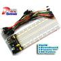 Pack Electronico Robotica Protoboar Cables Fuente - Arduino