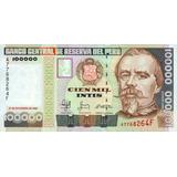 10 Billetes Intis