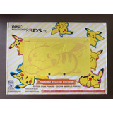 New Nintendo 3ds Xl Pikachu Yellow Edition En Stock!
