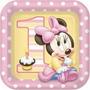 Baby Minnie - Platos Para Fiesta Infantil Primer Añito.