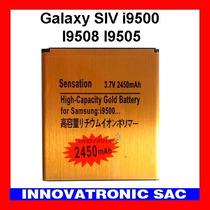 Bateria Gold Alta Capacidad Para Galaxy S4 I9500 I9508 I950