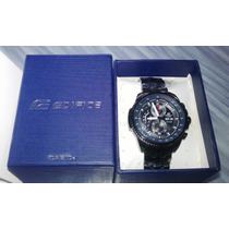 Reloj Casio Edifice Ef-558bk-1av Nuevo Y Original