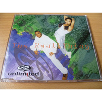 Cd 2 Unlimited The Real Thing Maxi Single 4 Tracks Top Music