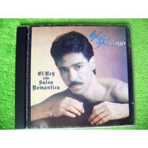 Cd Eddie Santiago El Rey De La Salsa Romantica Sensual 1991