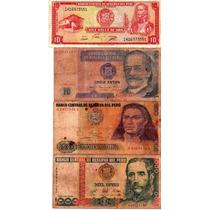 Remato Coleccion Monedas Billetes Antiguos Soles Oro Intis