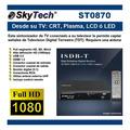 Sintonizador Decodificador Tv Hd Full Segment Skytech St0870
