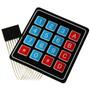 Matriz De Teclas 4x4 Para Arduino Microchip Pic