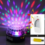 Parlante Mp3 Luces Sicodelicas Magic Ball Audioritmica + Usb