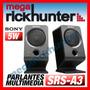 Parlantes Sony Multimedia Para Pc 2.0, Srs-a3, Nuevo Sellado