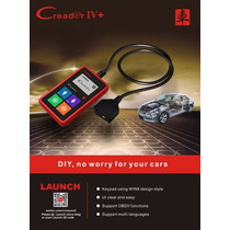 Scanner Automotriz Launch Creader Iv+ Obdii Original