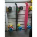 Skate Modelo Penny Marca Gravital Con Llantas Multicolores