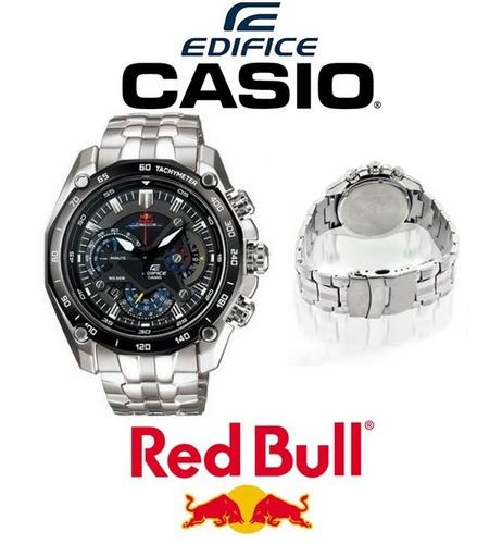 87abdaea8218 Reloj Casio Edifice Ef 550 Rbsp Red Bull Vettel 550rbsp