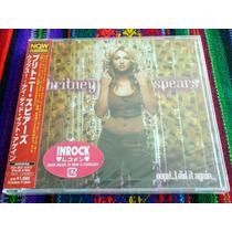 Britney Spears Oops!...i Did It Again Japón 2007 Press