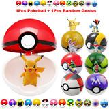 Pokeballs Pokebola Pokemon Original Medida 7cm + Pokemon