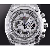Reloj Casio Edifice Ef- 550rbsp-7av Red Bull White (blanco)