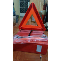 Triangulo De Seguridad Vial Reflectivo De Emergencia Auto