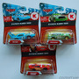 Cars Disney Pixar 3 Carros Rayo Mcqueen El Rey Chick Hicks