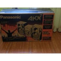 Equipo De Sonido Panasonic Akx38 - Nuevo
