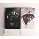 Libreta Juego De Tronos Stark Cuaderno Personalizado Apuntes