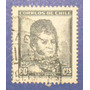 Estampilla Stamp Bernardo O´higgins 60 Cts Chile Antigua