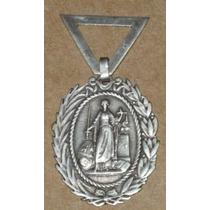 Medalla 1900 Poder Judicial Del Peru En Plata - Juez Peruano