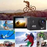 Cámara Deporte Acción Acuática 4k Wifi Ultrahd + Accesorios