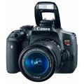 Cámara Canon Eos Rebel T6i + Lente 18-55mm 24.2mp Nuevo