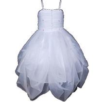 Vestido Blanco Para Fiesta Promoción Cumpleaños
