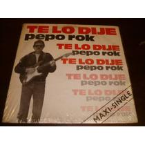 Pepo Rock - Te Lo Dije 1986 Rock Peruano 80