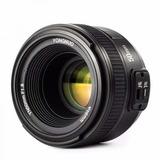 Lente Yongnuo De 50mm Yn50mm 1.8 Para Canon 1.8g