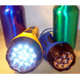 2 Linternas Recargable 15 Y 7 Focos Led Superbrillo Y Ahorro
