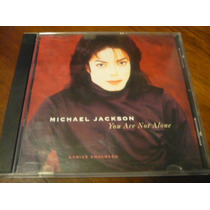 Michael Jackson You Are Not Alone 1995 Made In Usa Cd Single